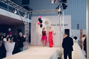 Brautmodenshow auf der Hochzeitmesse in Saarbrücken