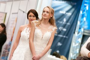 Brautmodenshow auf der Hochzeitmesse in Ludwigshafen